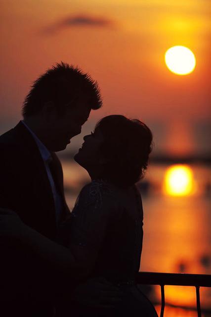 Tips & Teknik foto siluet sunset