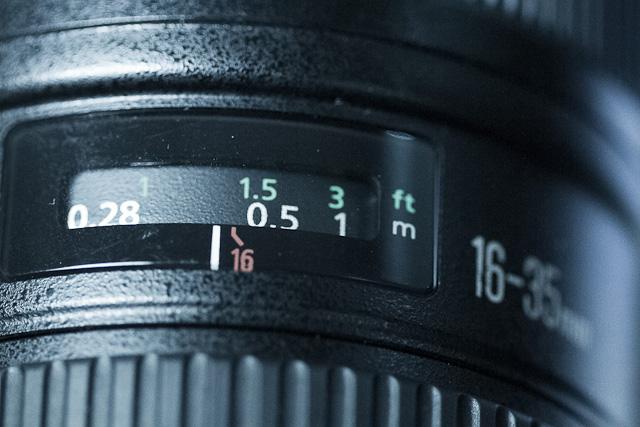 Detail kamera digital dslr