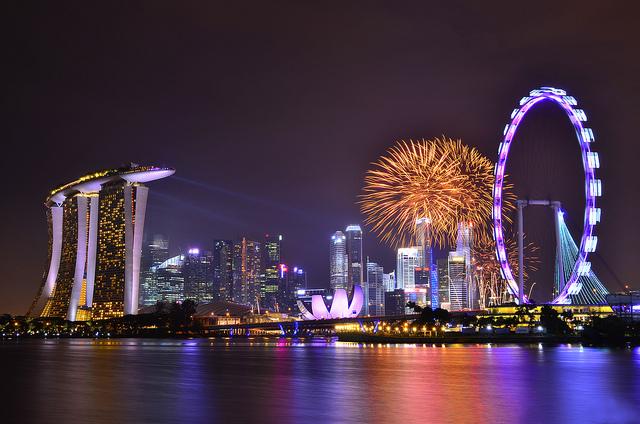 Foto kembang api 2013 dari seluruh dunia