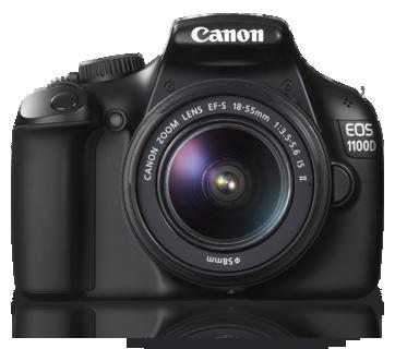 Kamera DSLR terbaru dari Canon – EOS 1100D