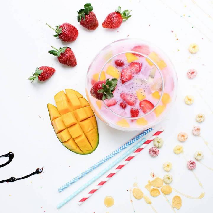 Tips foto makanan, perhatikan warna
