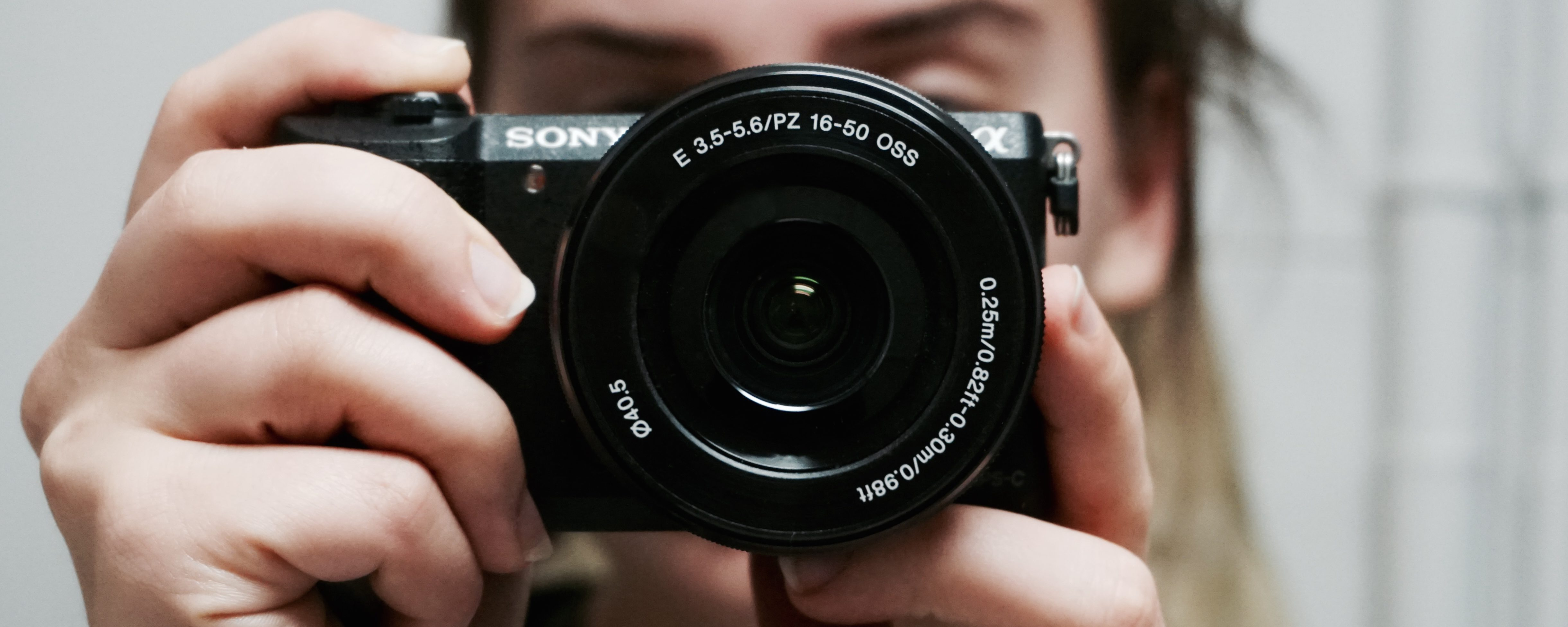 photograph selfie sony camera 4880x1952