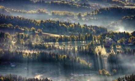 Mengejar Sinar Matahari Di Lembah Atas-Savinjska, Slovenia