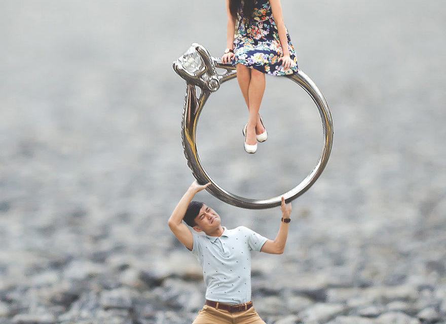 Foto Pre-Wedding yang Terinspirasi dari Kisah Dongeng