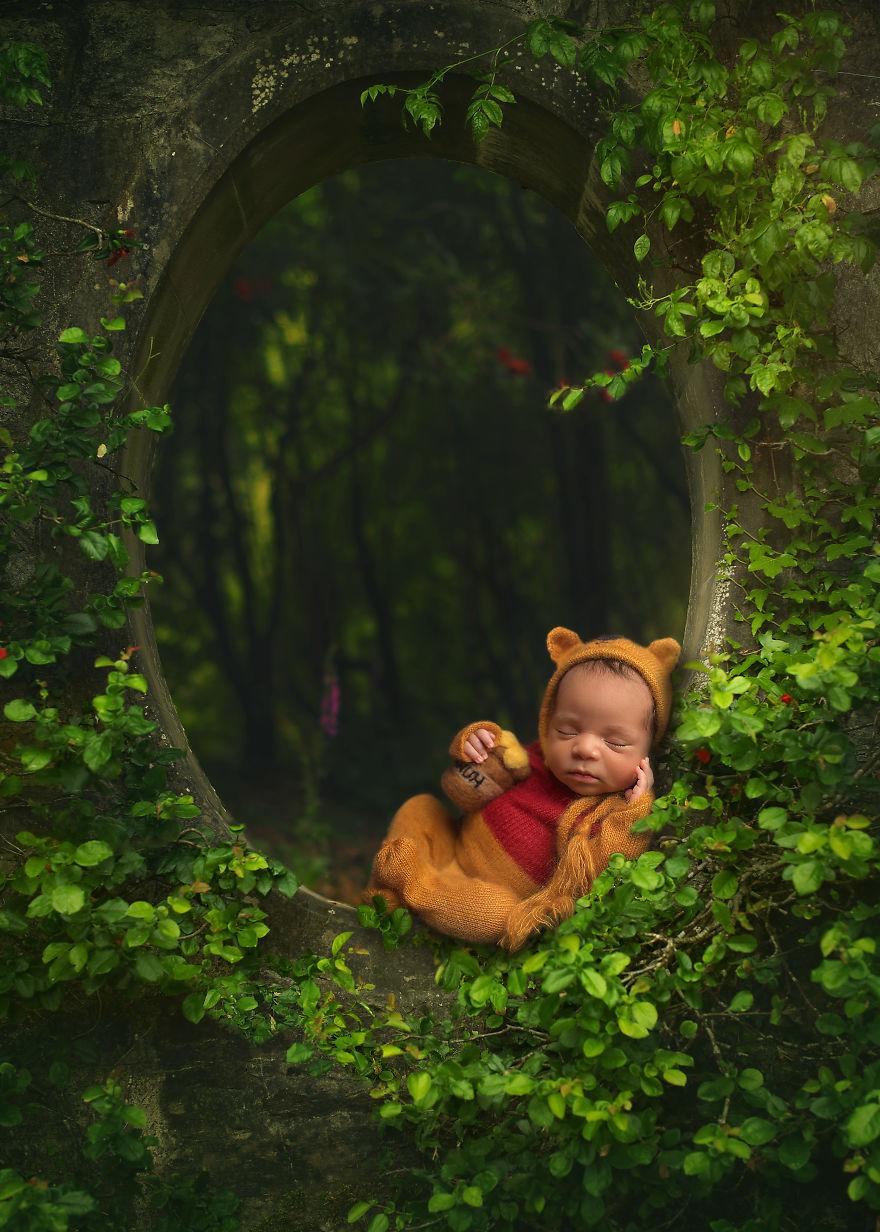 Koleksi Foto Baby Yang Unik Menggunakan Shop