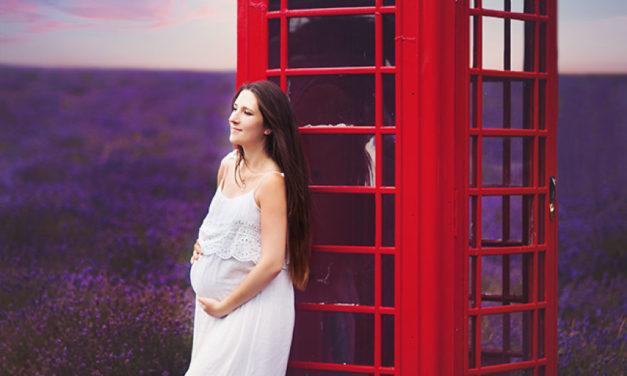 Maternity Photo Shoot Di Ladang Bunga Lavender
