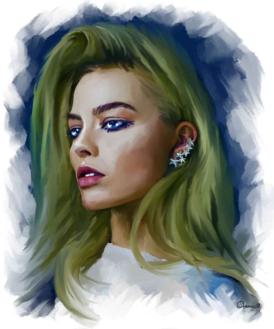 Koleksi Gambar Potret dan Ilustrasi Digital | Foto.co.id