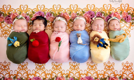 Inilah Koleksi Foto Bayi-Bayi Mungil Ala Putri Disney Land