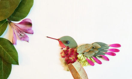 Bagaimana Jika Bunga Di Sulap Menjadi Kanvas Lukisan?