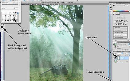 6 Cara Sederhana Membuat Efek Ray of Light (ROL) Di Dalam Photoshop