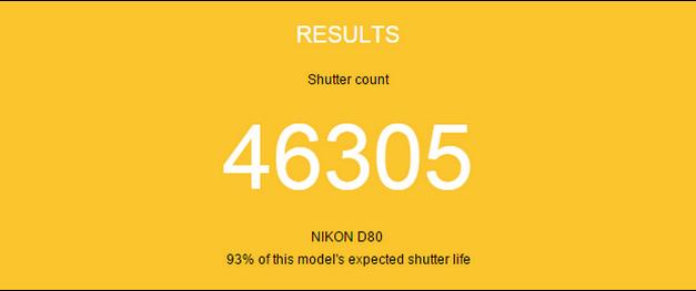 Cara Tercepat Dan Termudah Untuk Mengetahui Shutter Count Kamera