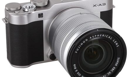 Kamera Mirrorless Fujifilm X-A3, Keren Untuk Kamu yang Suka Selfie !!